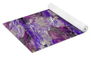 Mystic Waterfall - Purple Hues Yoga Mat