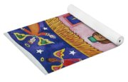 Nativity With Angels Yoga Mat