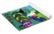 Nature Abstract Yoga Mat