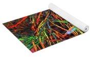 Needles Of Color Yoga Mat