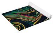 Neon Night Life Yoga Mat