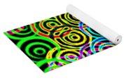 Neon Swirls Yoga Mat