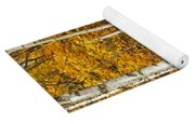 New Growth Old Leaves Yoga Mat