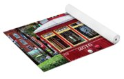 New Orleans Canal Streetcars  Yoga Mat