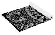 New Vision Black And White Yoga Mat
