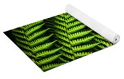 Night Forest Frond Yoga Mat