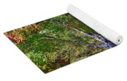 Ninety Six National Historic Site Bench In Autumn  Yoga Mat