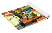 North African Townscape Yoga Mat