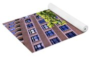 Nyc Building With Tree Overhang Yoga Mat