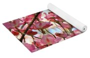 Office Art Prints Pink Flowering Dogwood Trees 18 Giclee Prints Baslee Troutman Yoga Mat