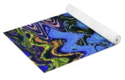 Old Columbia River Water Front Abstract Yoga Mat