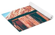 Old Farm House Yoga Mat