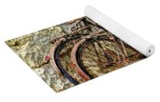 Old French Bicycles Yoga Mat