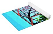 Old Ozark Trail Bridge Yoga Mat