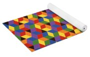 Open Hexagonal Lattice I Yoga Mat