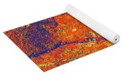 Orange Lichen Yoga Mat