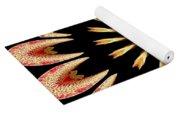 Orchid Kaleidoscope 3 Yoga Mat