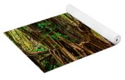Out Of The Hole And Through The Trees Yoga Mat