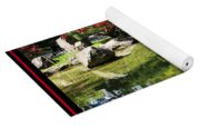Over Springtime Pond Yoga Mat