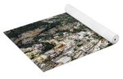 Overall View Of Part Of The Amalfi Coast In Italy Yoga Mat