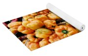 Painterly Peppers Yoga Mat