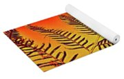 Palm Frond In The Summer Heat Yoga Mat