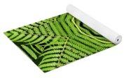Palm Tree Kaleidoscope Abstract Yoga Mat