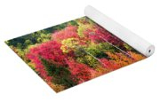Panoply Of Autumn Color Yoga Mat