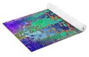 Parched - Abstract Art Yoga Mat
