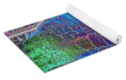 Parched Earth Abstract Yoga Mat