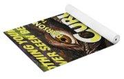 Parson Russell Terrier Art Canvas Print - Curucu  Movie Poster Yoga Mat