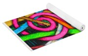 Particle Track Forty-one Yoga Mat