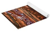 Patchwork Forest Yoga Mat