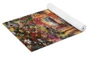 Pathway In Monet's Garden Yoga Mat
