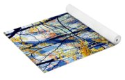 Pebble Creek Autumn Yoga Mat