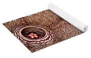 Persian Carpet Flower Yoga Mat