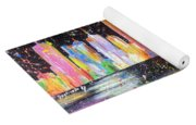 Perth Skyline Alla Pollock  Yoga Mat