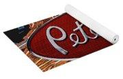 Peterbilt Emblem In Flames Yoga Mat