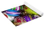 Pile Of Beautiful Ornaments Yoga Mat