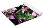 Pile Of Purple Yoga Mat