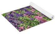 Pink And Lavender Yoga Mat