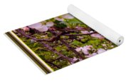 Pink Aplle Blossoms Of Spring Time Yoga Mat