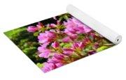 Pink Azalea Flowers Landscape 11 Art Prints Canvas Artwork Framed Art Cards Yoga Mat