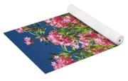 Pink Flowering Shrub Yoga Mat