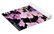 Pink Little Orchids Yoga Mat