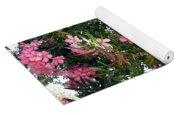 Pink Oleanders Yoga Mat