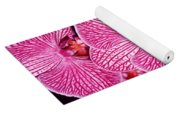Pink Orchids Yoga Mat