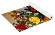 Pitcher Of Flowers Still Life Yoga Mat