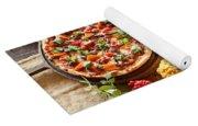 Pizza Yoga Mat