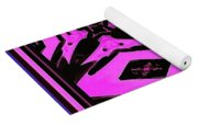 Planet Of The Aliens Abstract Yoga Mat
